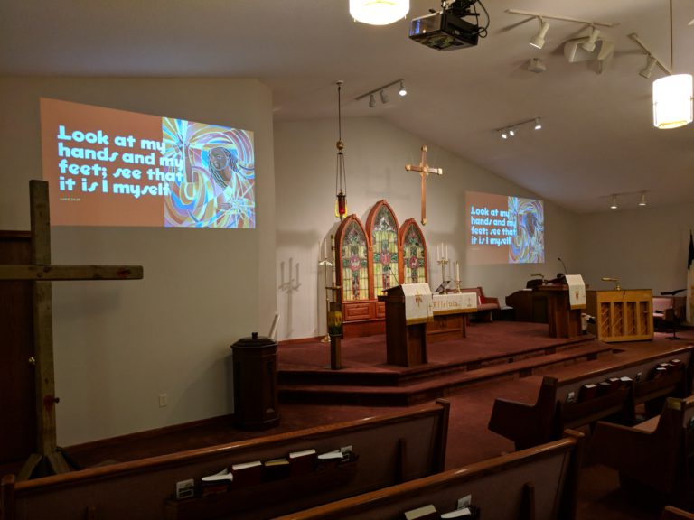 Transition to new church website complete!