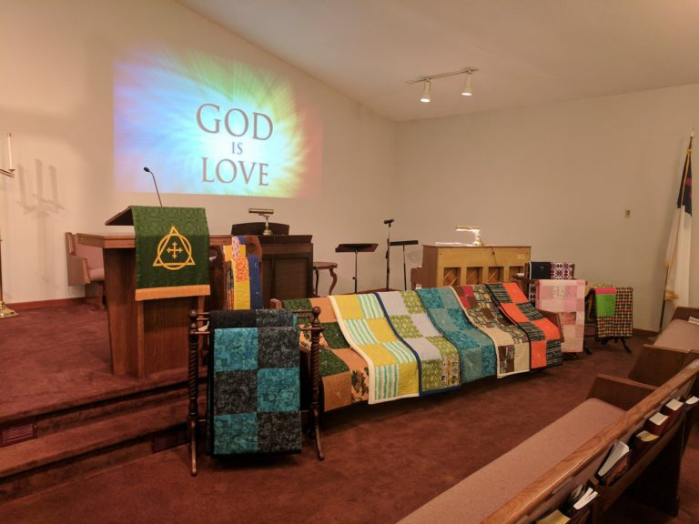 REMINDER: Service of Healing and LWR Quilt Blessing this Sunday, September 26